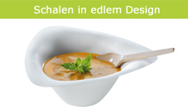 Schalen in edlem Design