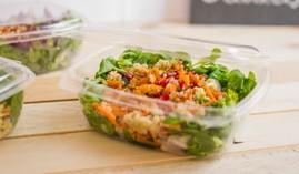 Salat To Go Boxen, kalte Speisen