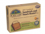 IF YOU CARE Sandwich und Snackbeutel - 12er Pack á 48 Stück