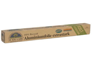 IF YOU CARE Alu-Folie extra stark, 7 lfm 12 Rollen