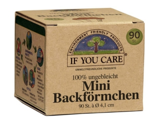 IF YOU CARE Mini Backförmchen, Ø 4,1 cm - 24er Pack á 90 Stück