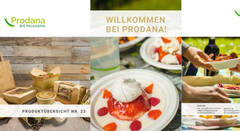 PRODANA Produktkatalog No. 23 zum Download